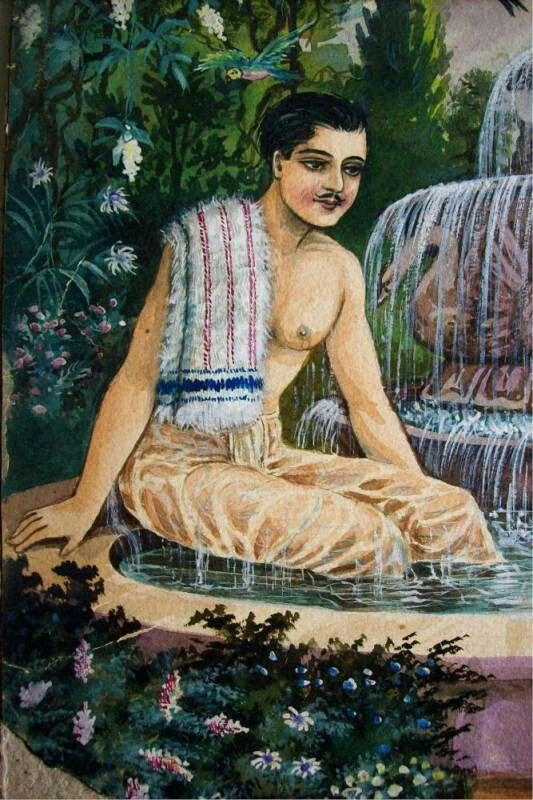 Discover Ideas About Vintage Paintings Man And Woman Bathing