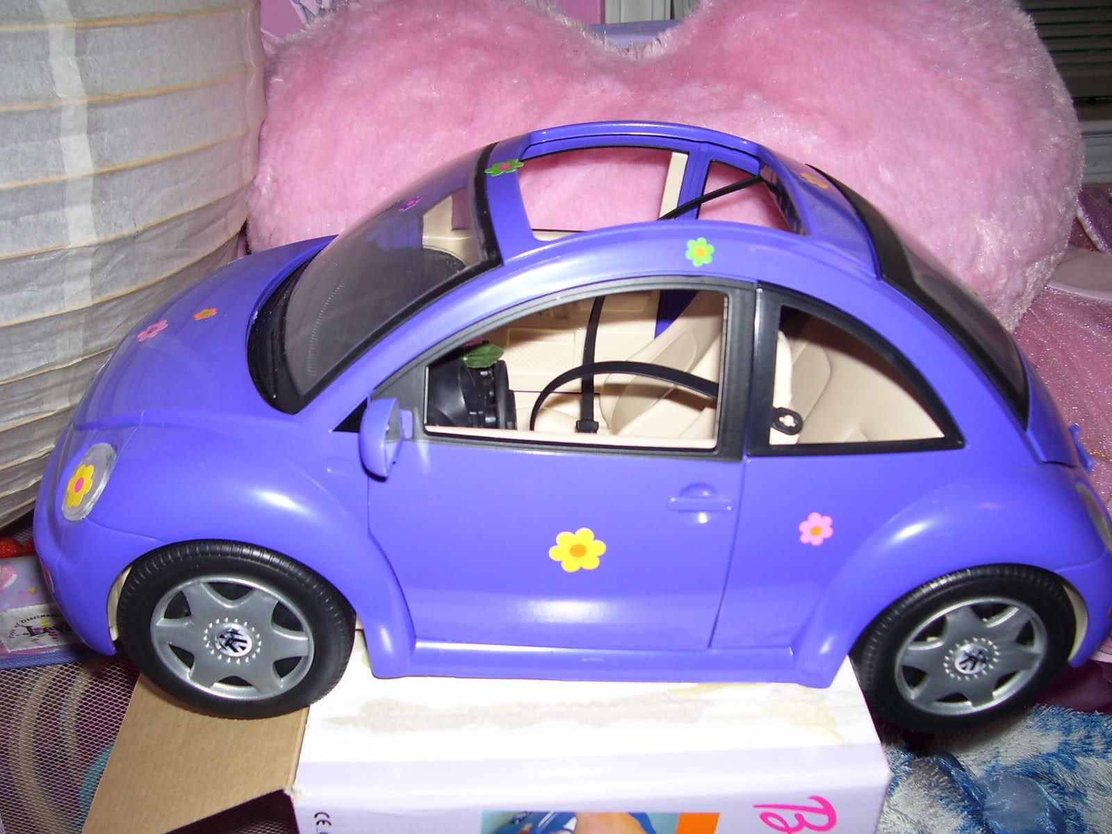 Barbie Purple Punch Buggy Cars Early 2000s Aesthetics Nostalgia