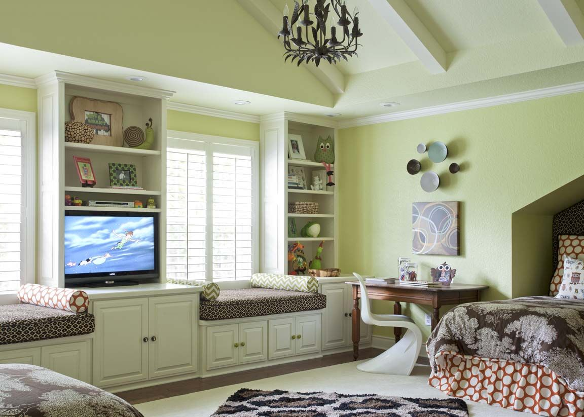 A Room for All Ages kids room ideas Green bedroom