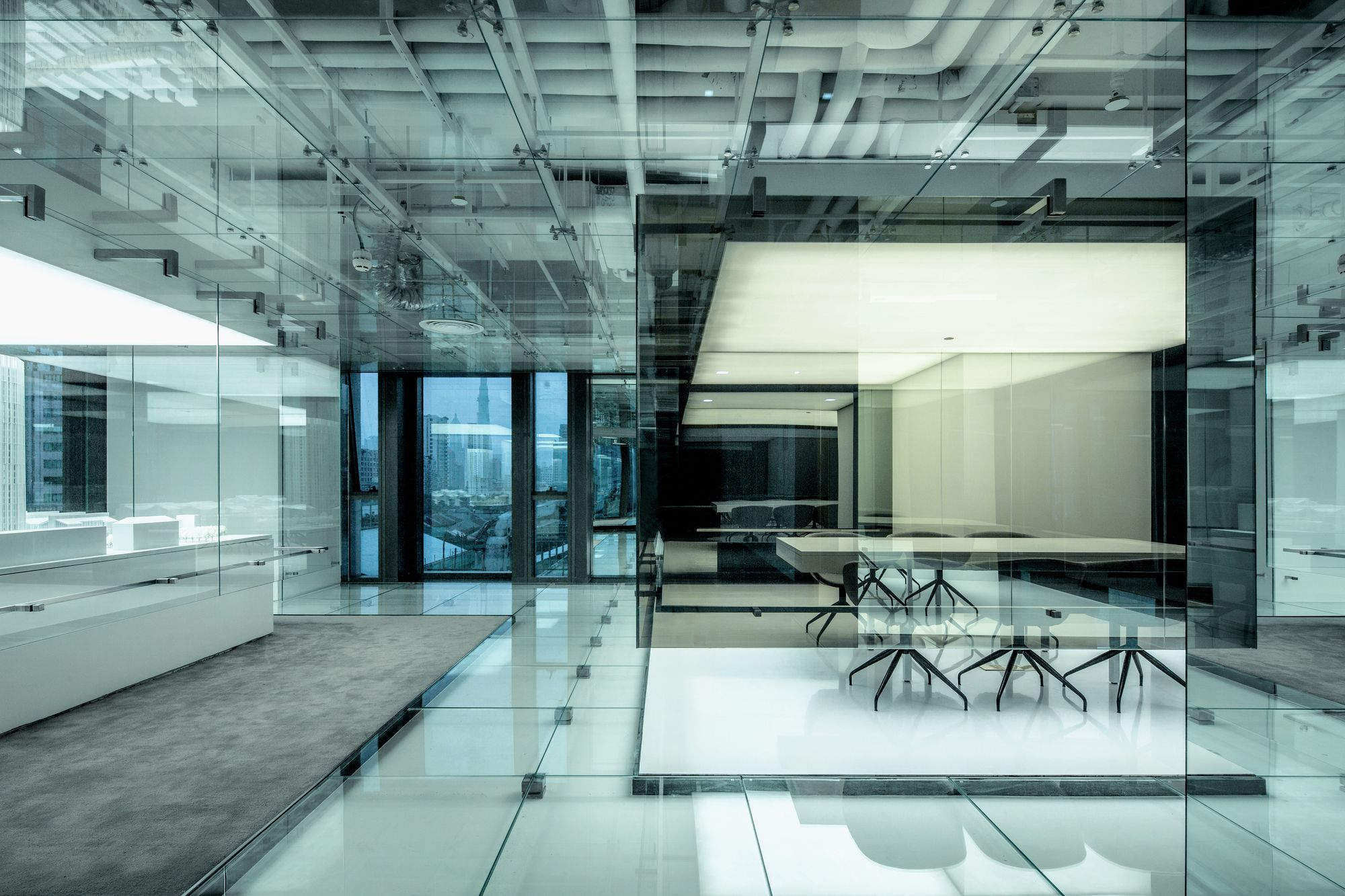 gallery office glass. gallery of glass office soho china aim architecture 5 l
