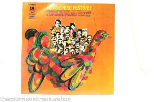 BF-Goodrich-Something-Festive-LP33-Record-A-M-SP19003-Christmas-Album