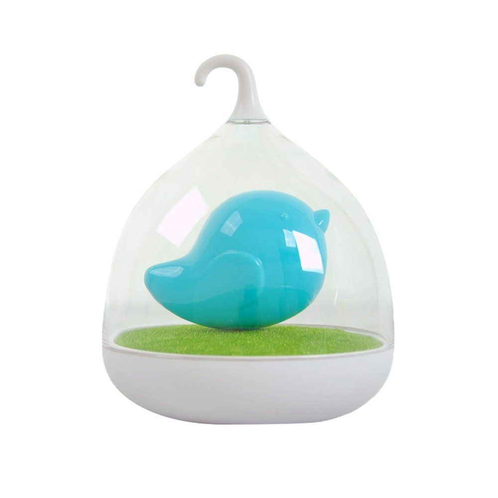 Leegoal Tm Portable Creative Bird Cage Intelligent Voice Sensor Led Night Light Lamp Blue Learn More By V With Images Baby Night Light Night Light Nursery Night Light