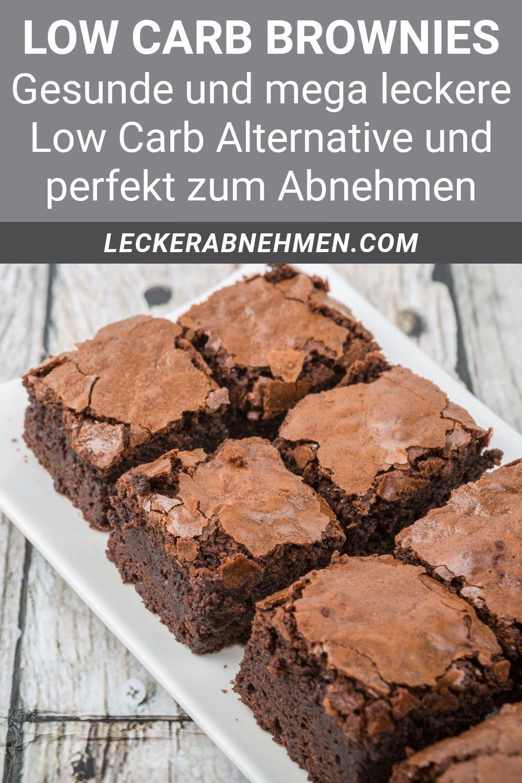 Brownies ohne Zucker – Low Carb Rezept zum Abnehmen