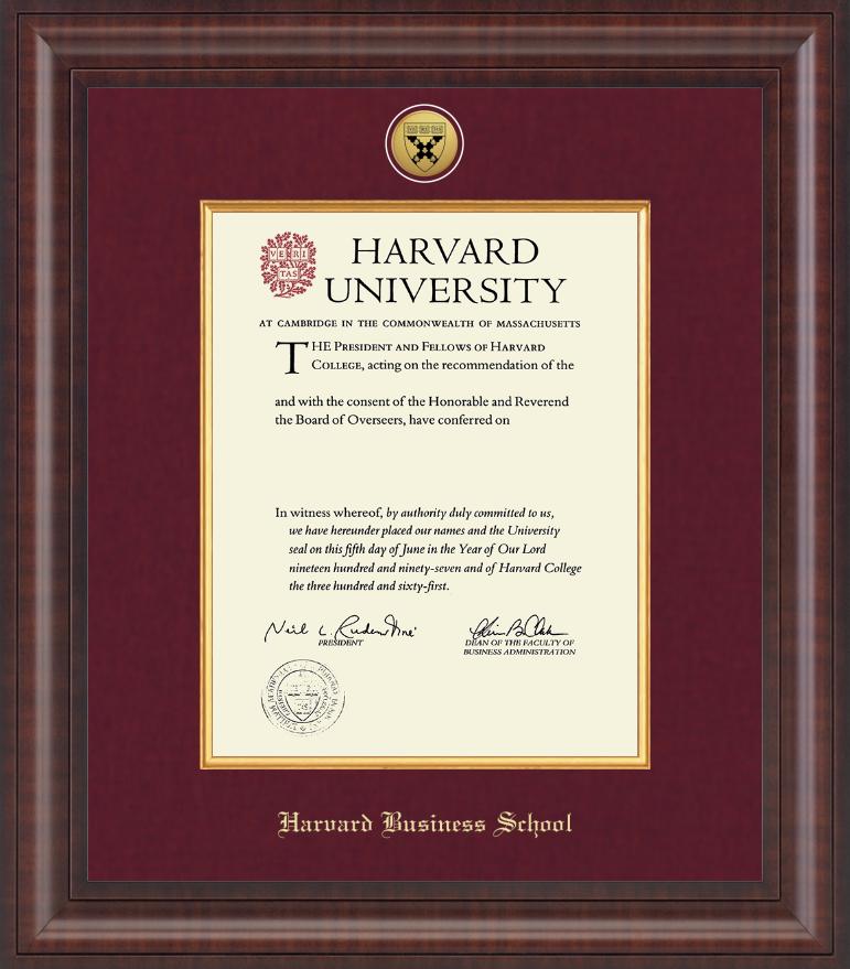 Resultado de imagen para MBA Harvard diploma   JULIO G- SP   Pinterest