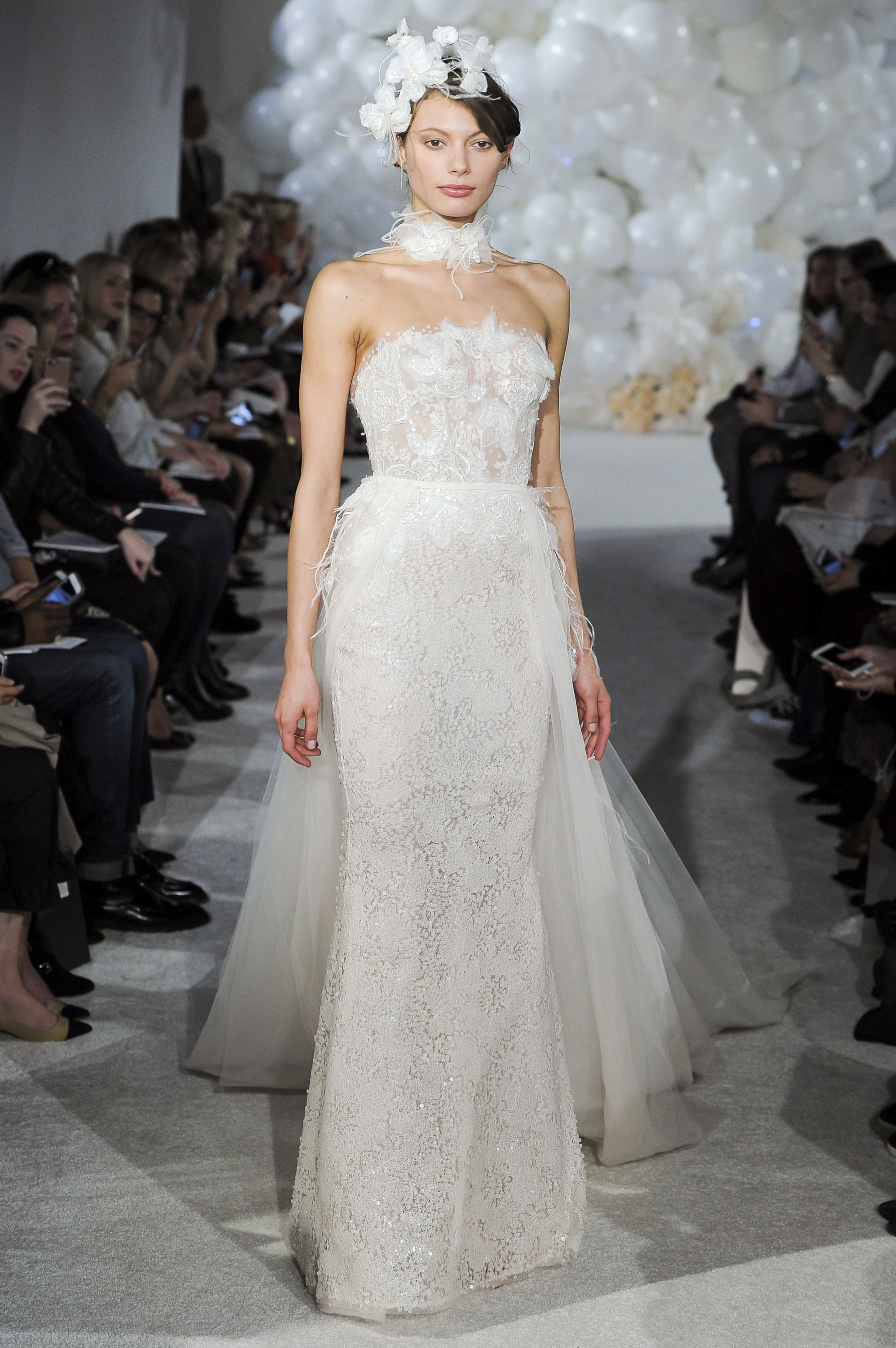 Mira zwillinger spring bridal fashion show the impression
