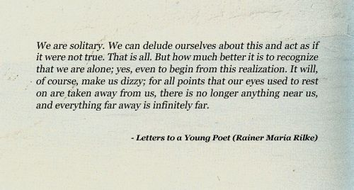 Letters to a Young Poet Quotes Poems