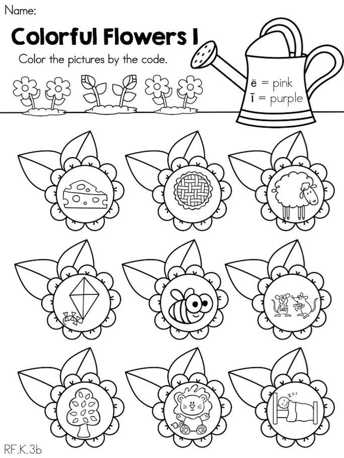 Spring Worksheets For Preschool : Spring kindergarten language arts worksheets literacy