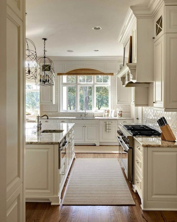 Undermount Lighting For Kitchen Cabinets: Light And Bright Kitchen. Specifics: Cabinets Are Painted