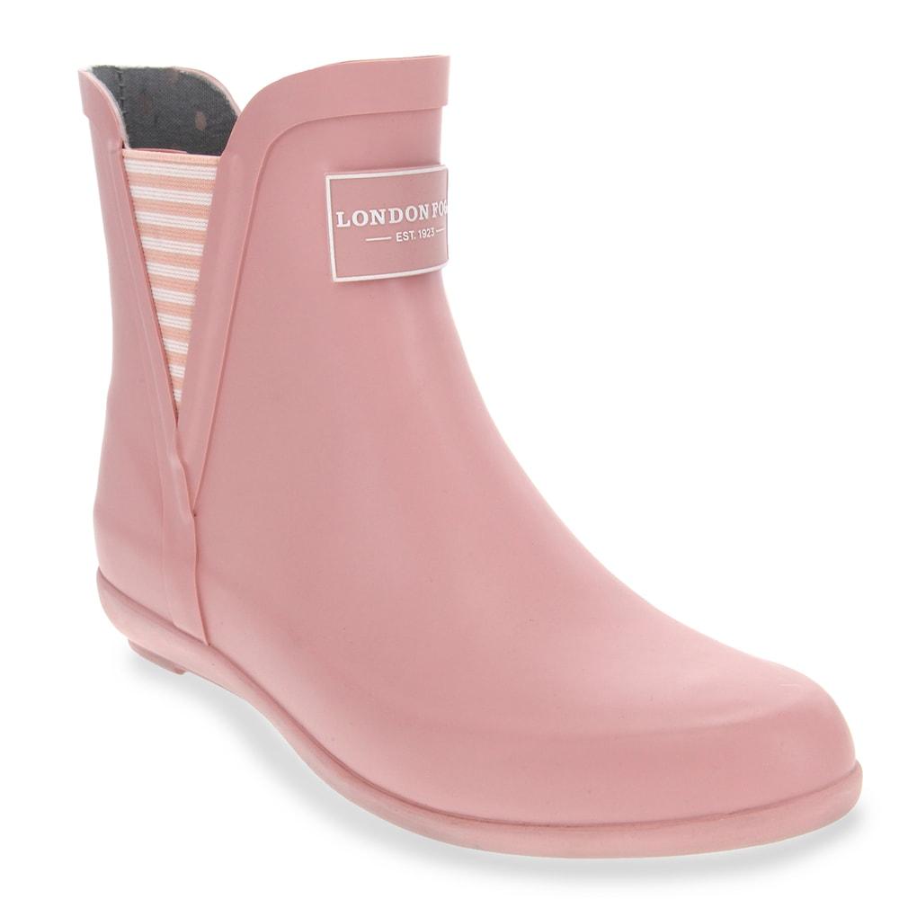 Pink   Rain boots, Ankle rain boots