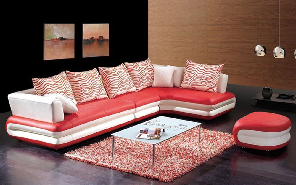 Alluring Design of Leather Sectional - http://www.instylecebu.com/alluring-design-of-leather-sectional/
