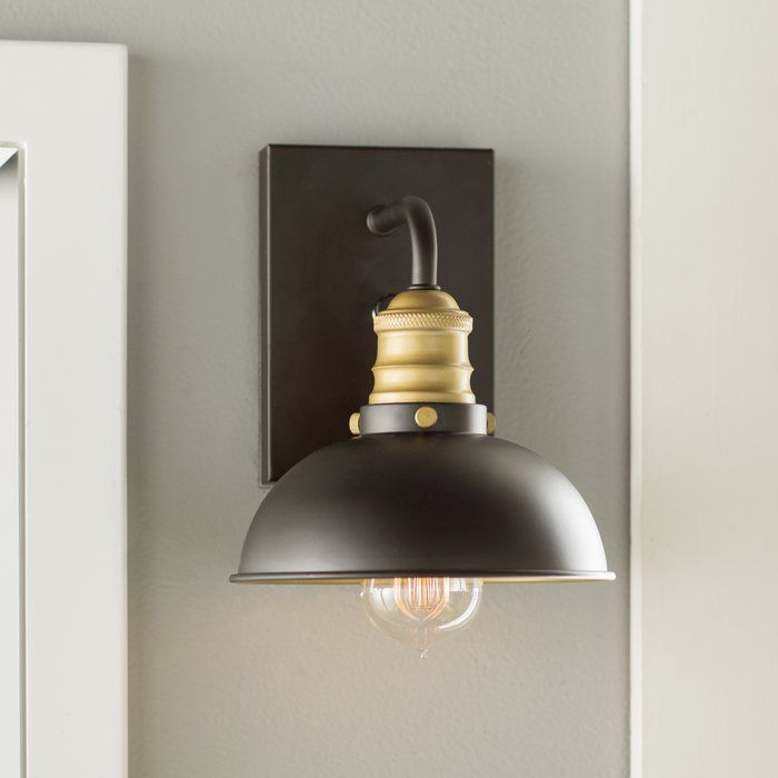 Jonas 1 - Light Dimmable Armed Sconce