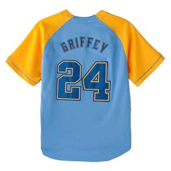 65182d4f Vintage Nike Seattle Mariners Ken Griffey Jr Cooperstown Jersey ...