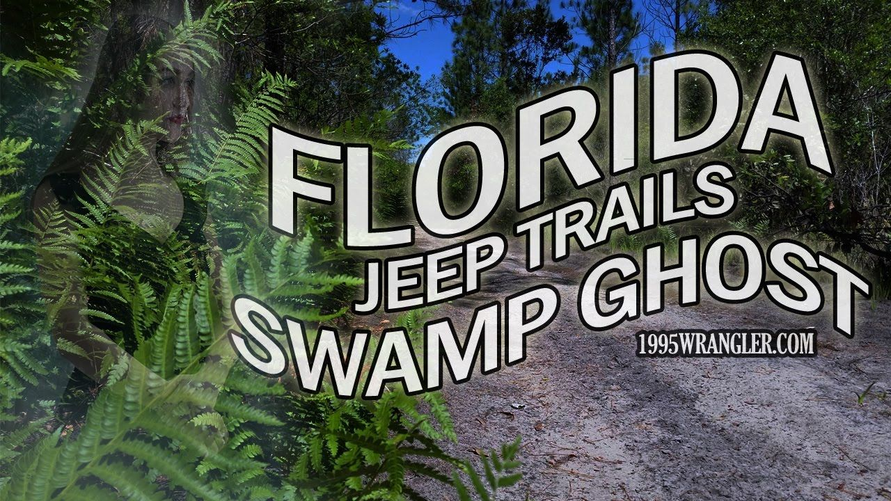 Jeep The Swamp Ghost Off Road South Of Orlando Sand Trails Off 417