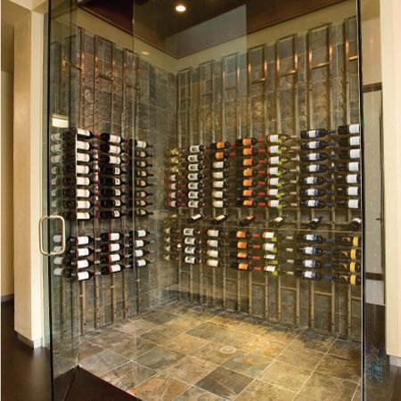 VintageView Wine Racks Backer Floor to Ceiling Frame