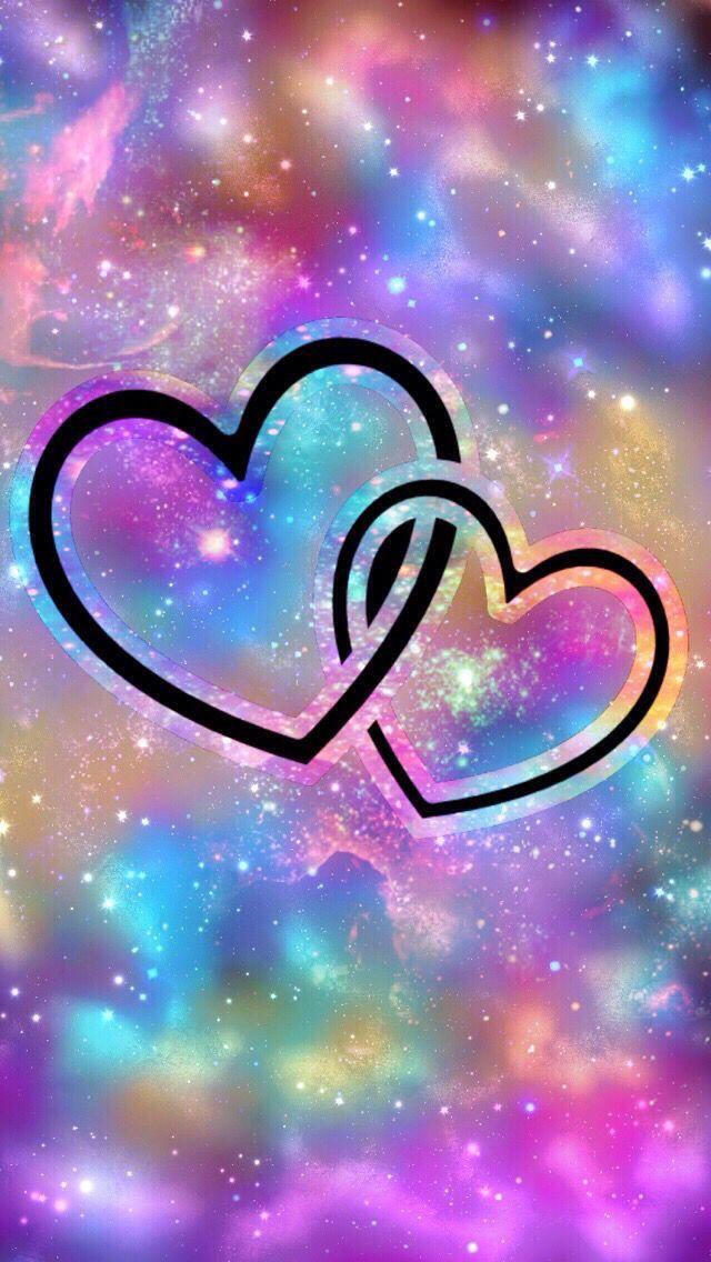 Bonito Fondo De Corazones Cute Heart Background Colores Colors