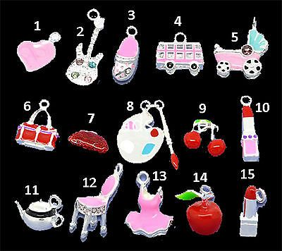 ASSORTED SILVER PLATED CHARMS - GREAT FOR RAINBOW LOOM! FAST SHIPPING! https://t.co/HyBFm9Wb9H https://t.co/vo7uXVygEP