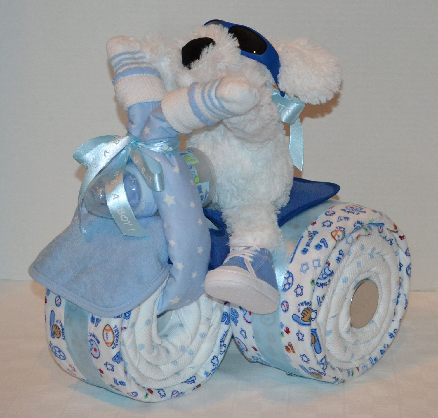 Baby Gift Suggestions : Baby boy man shower collection on
