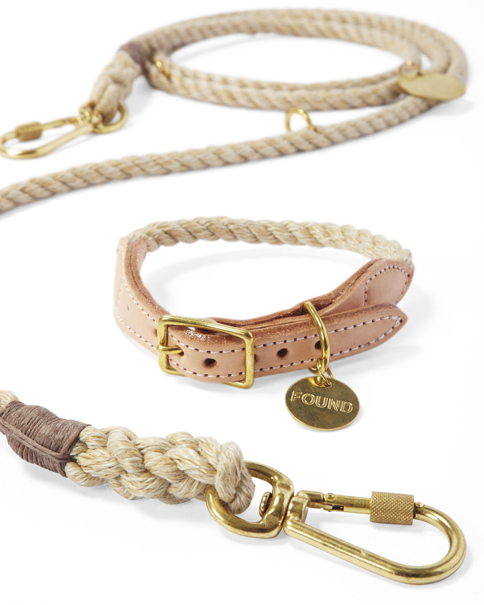 Handcrafted With Marine Grade Rope And Embellished With Brass