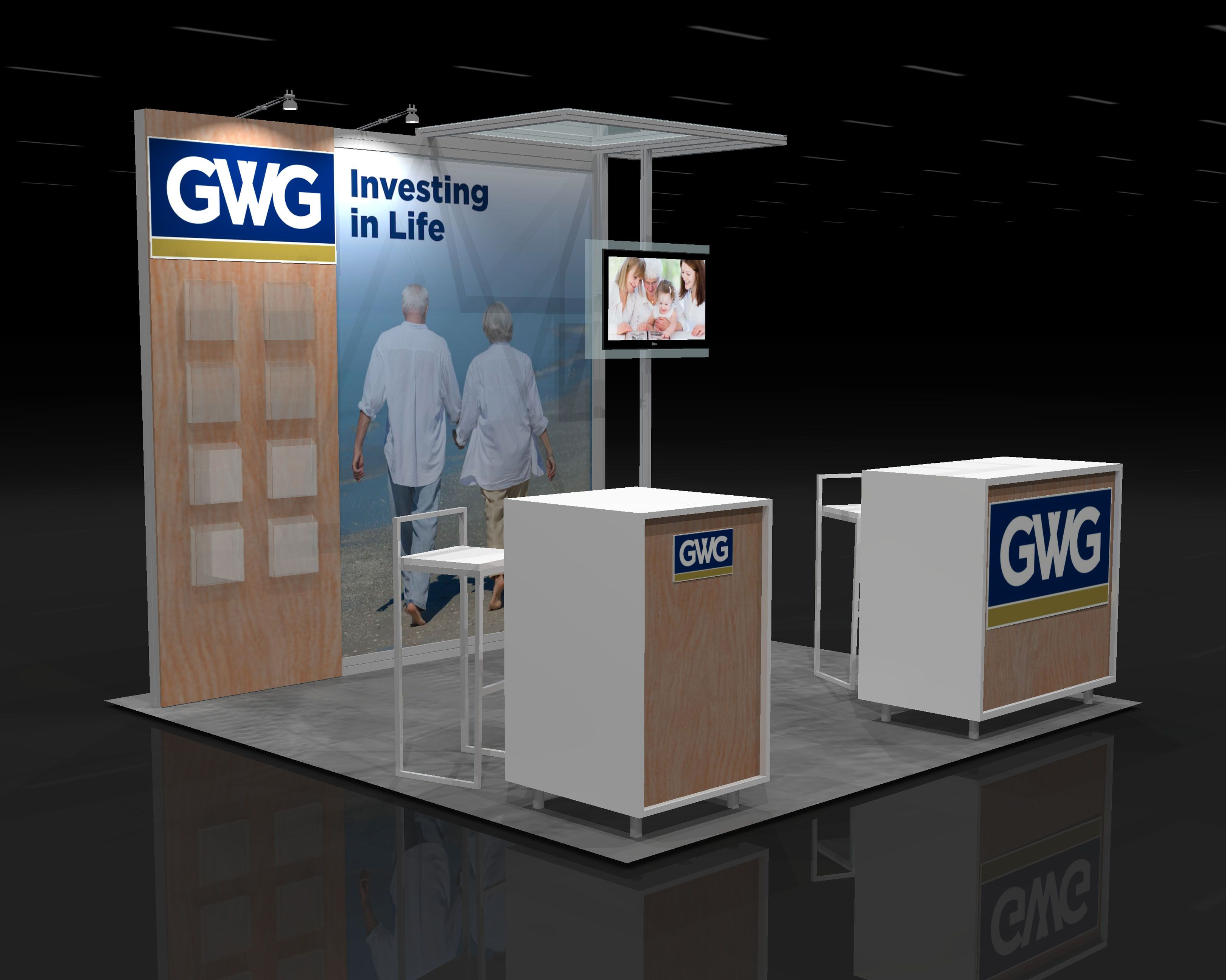 Exhibition Booth Rental : Lawn trade show booth rental ☆ exhibit design