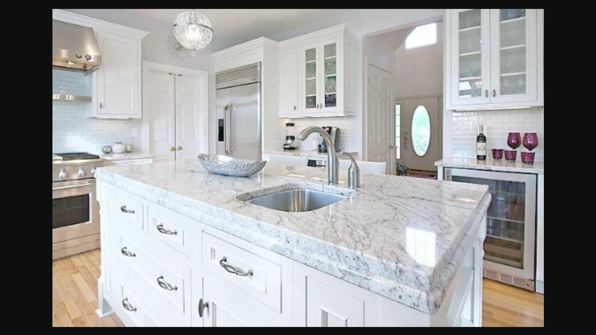Bianco Romano Granite Bancadas De Granito Branco Home Cozinha Granito
