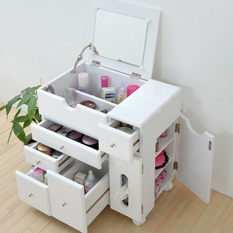 Good Jewelry Makeup Box Dresser Multifunctional Storage Cabinet
