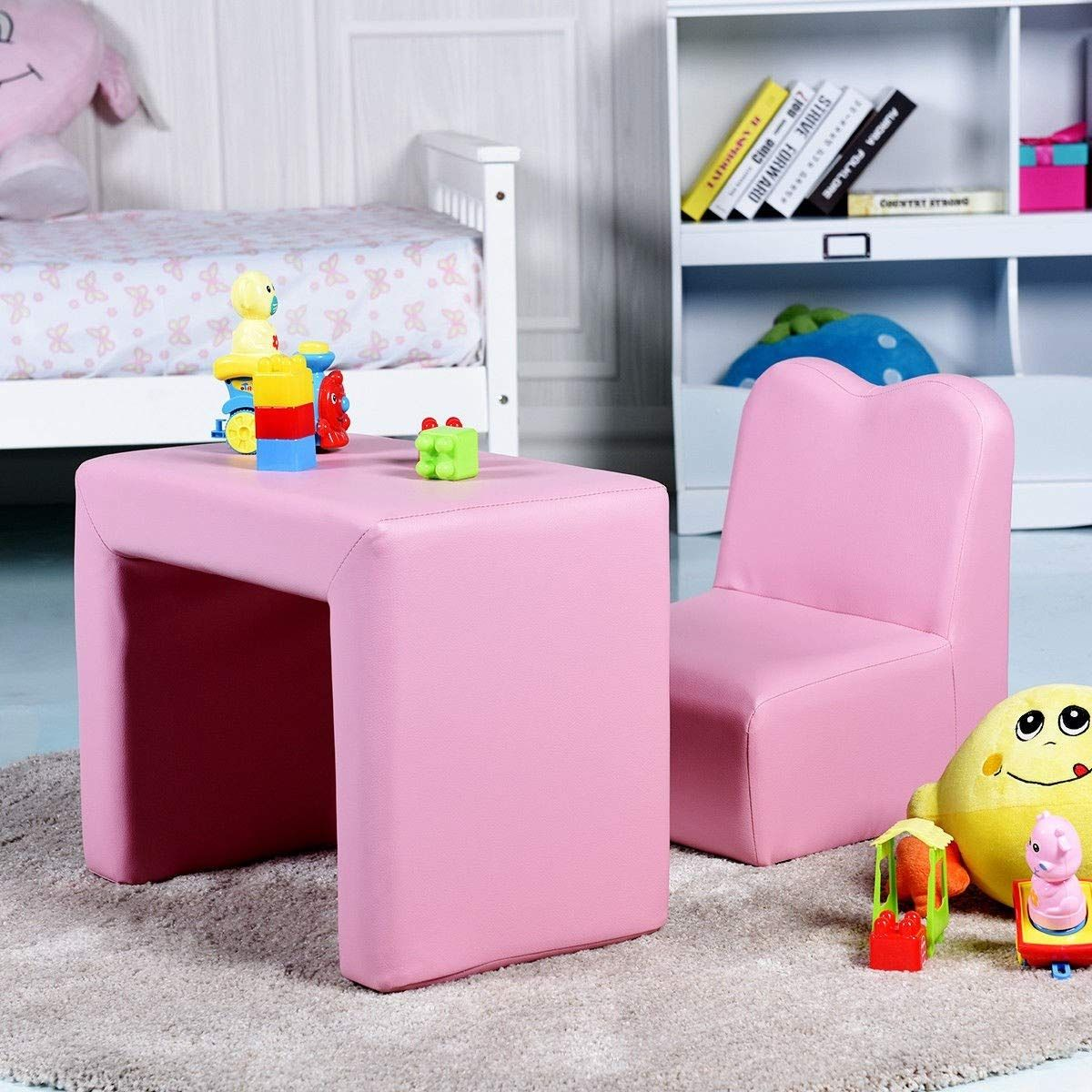 Md Group Armchair Sofa Table And Chair Set Multifunctional Kids