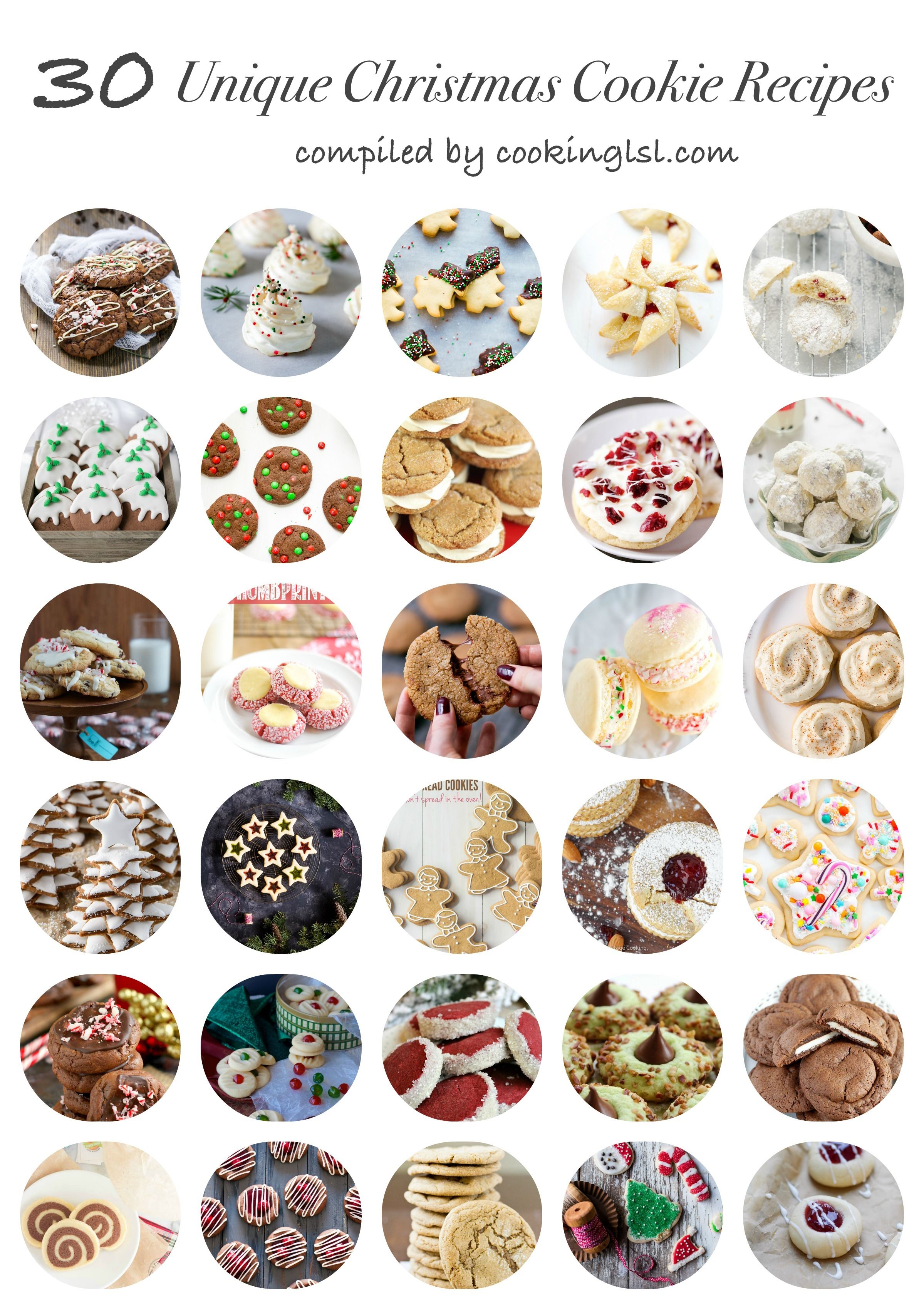30 Unique Christmas Cookie Recipes | Christmas trees, Happy and ...