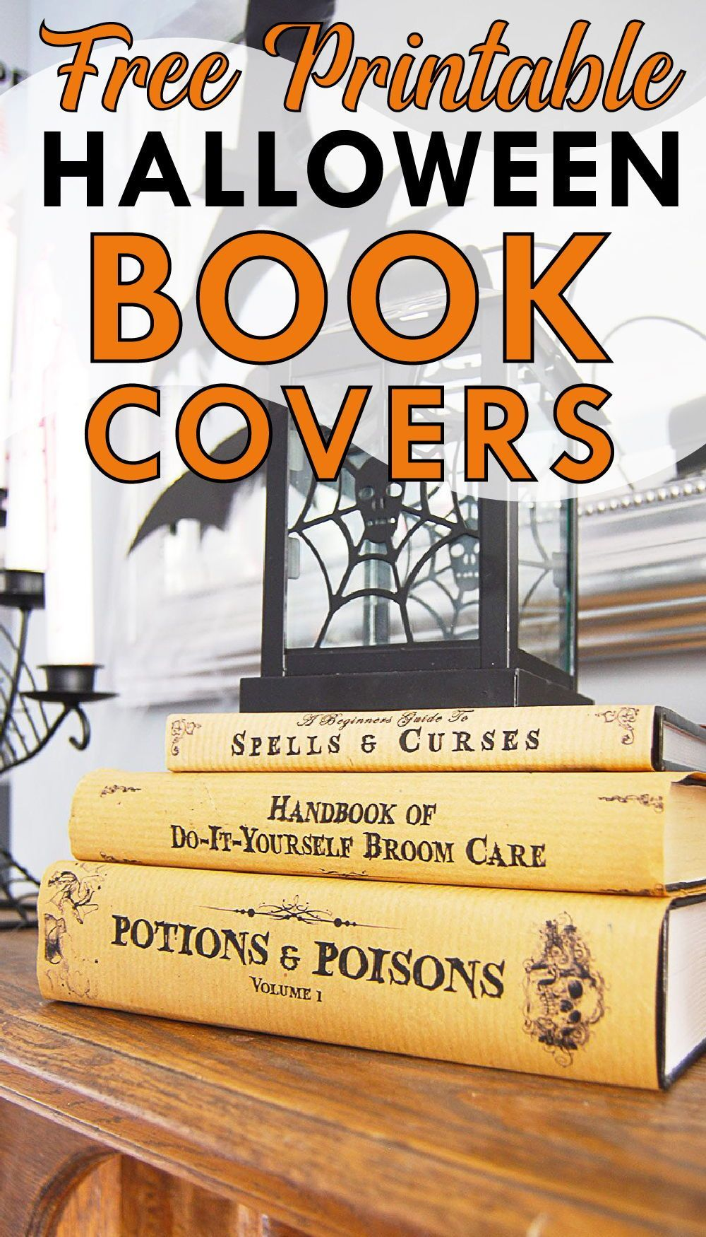 Photo of Halloween Book Covers – Free Printable!