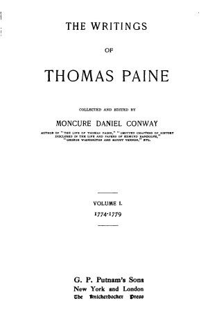 Thoma Paine Thought On A Defensive War July 1775 Spiritual Freedom I The Root Of Political Liberty Union B Essay Common Sense Analysi Why Wa Paine' Significant To American Independence Quizlet