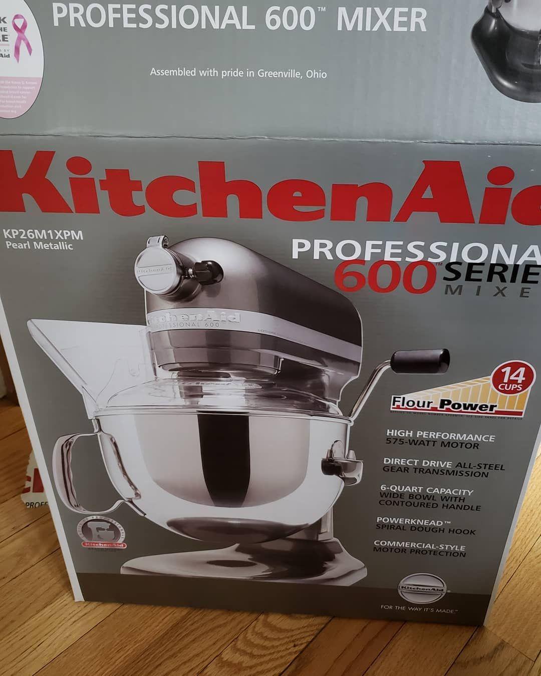 Kitchenaid pro 600 series 6quart bowllift stand mixer
