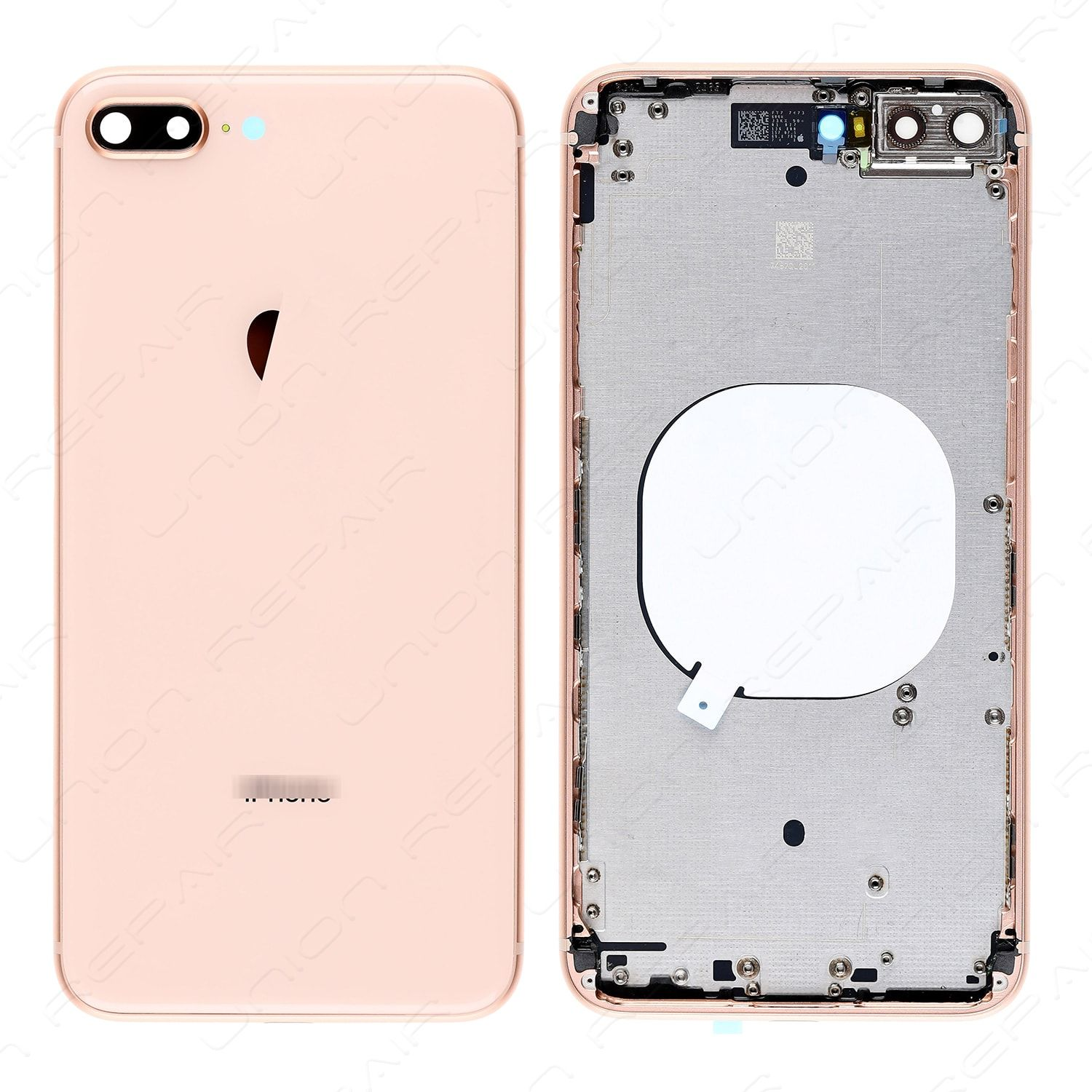 Replacement for iPhone 8 Plus Back Cover with Frame Assembly - Gold ...