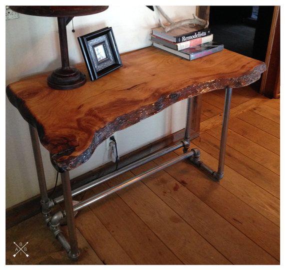 Live Edge Wood Slab Desk Live Edge Wood Furniture Wood Slab Live Edge Wood Desk