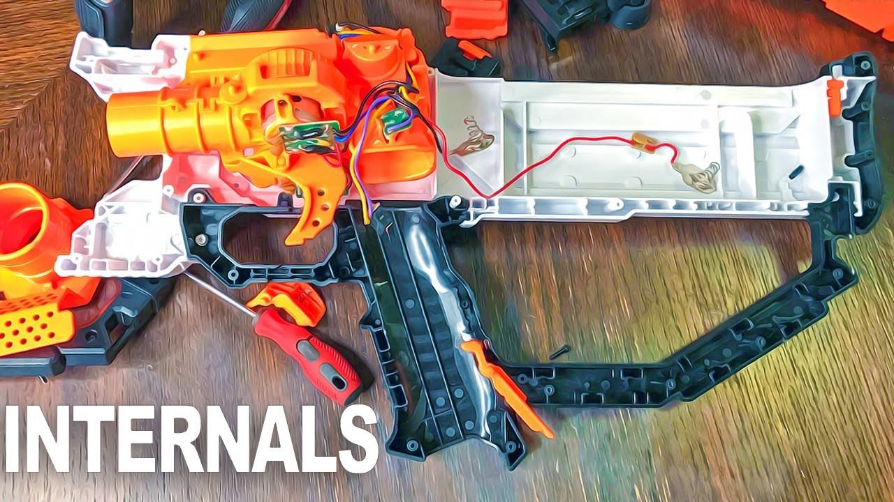 Nerf Rival Hera Internals / Semi-Tear Down of the Nerf Rival HERA MXVI-