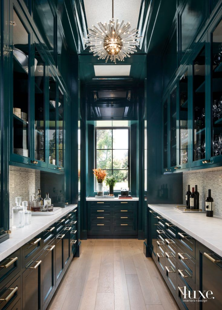 A Home On The SF Peninsula Reflects Old And New #whitegalleykitchens