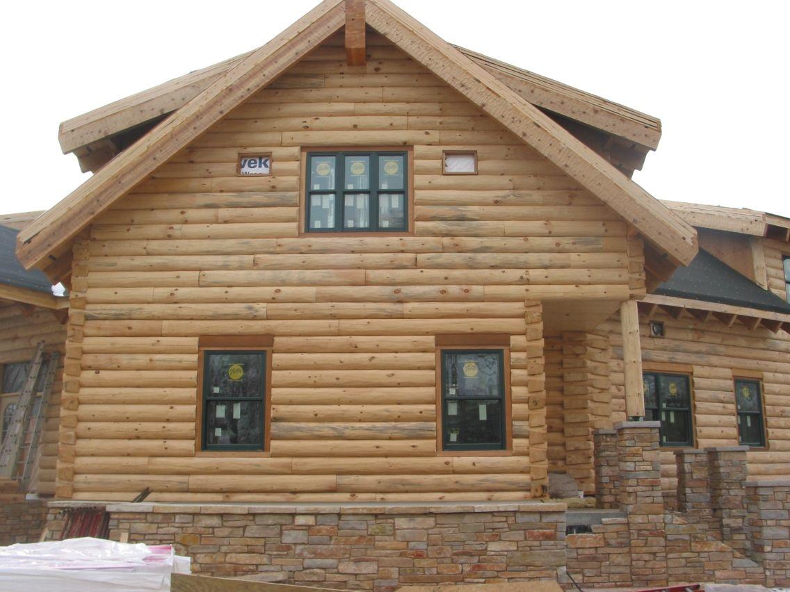 Log profile corner styles d log dovetail log corner for Log cabin styles