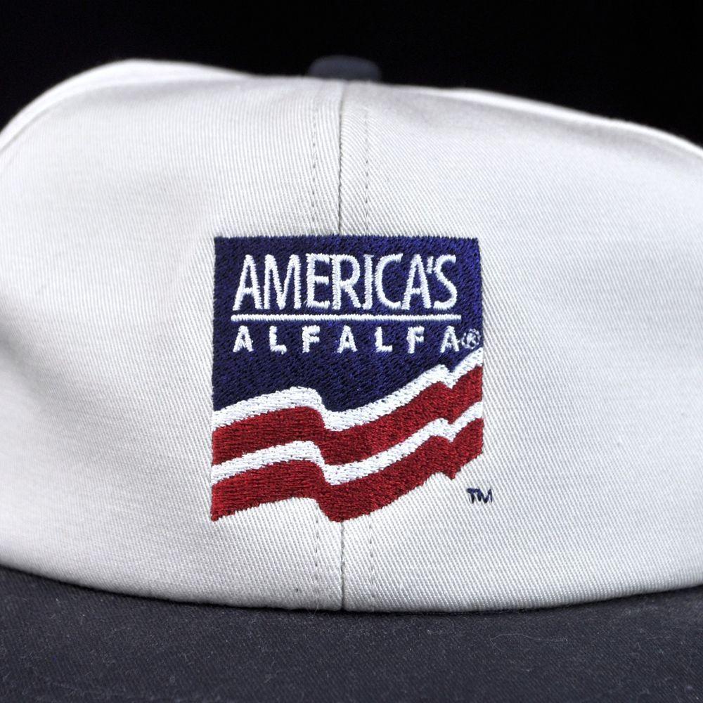 01b48f1706331 Americas Alfalfa USA Seed Farmer Baseball Cap Hat Snapback Promo   AmericasAlfalfa  BaseballCap