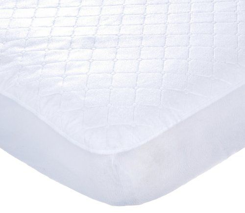 Carter S Keep Me Dry Waterproof Fitted Quilted Crib Pad White Kept Mattress Dry From Accidents Crib Mattress Pad Waterproof Crib Sheet Mattress Pad Cover
