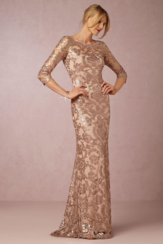 Rose Gold Sequin Bridesmaid Dress | Pinterest | Ballkleid, Festliche ...
