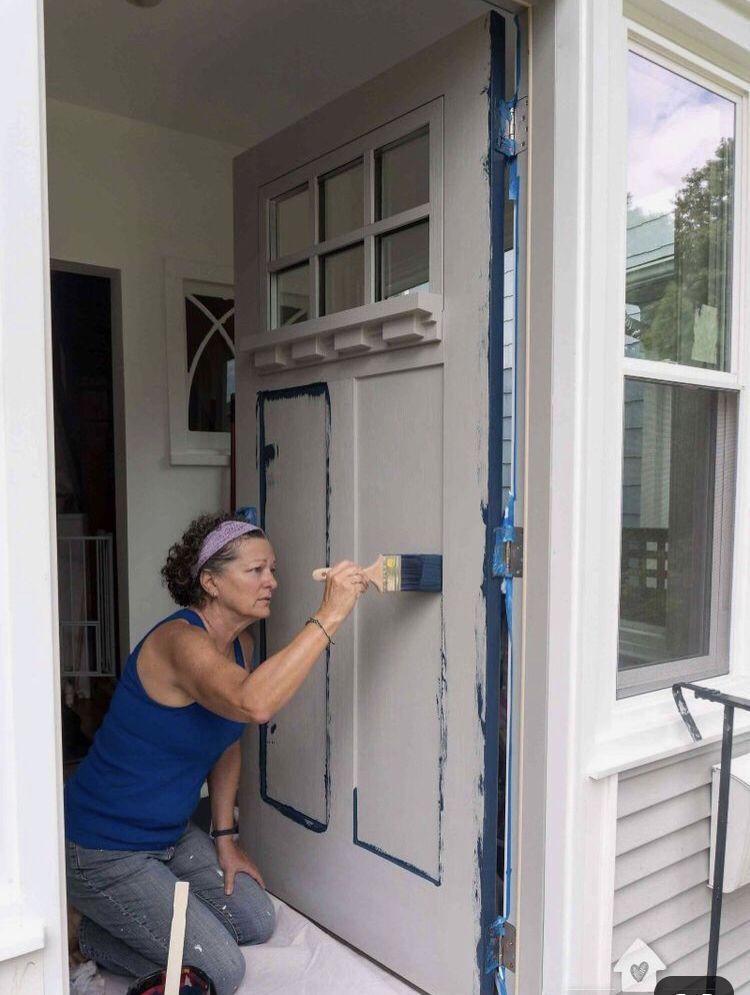 How to paint a door the easy way painted front doors