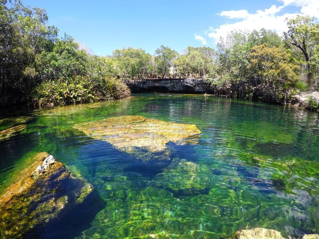Cenote El Jardin Del Eden Stop At This Breathtakingly Clear Cenote