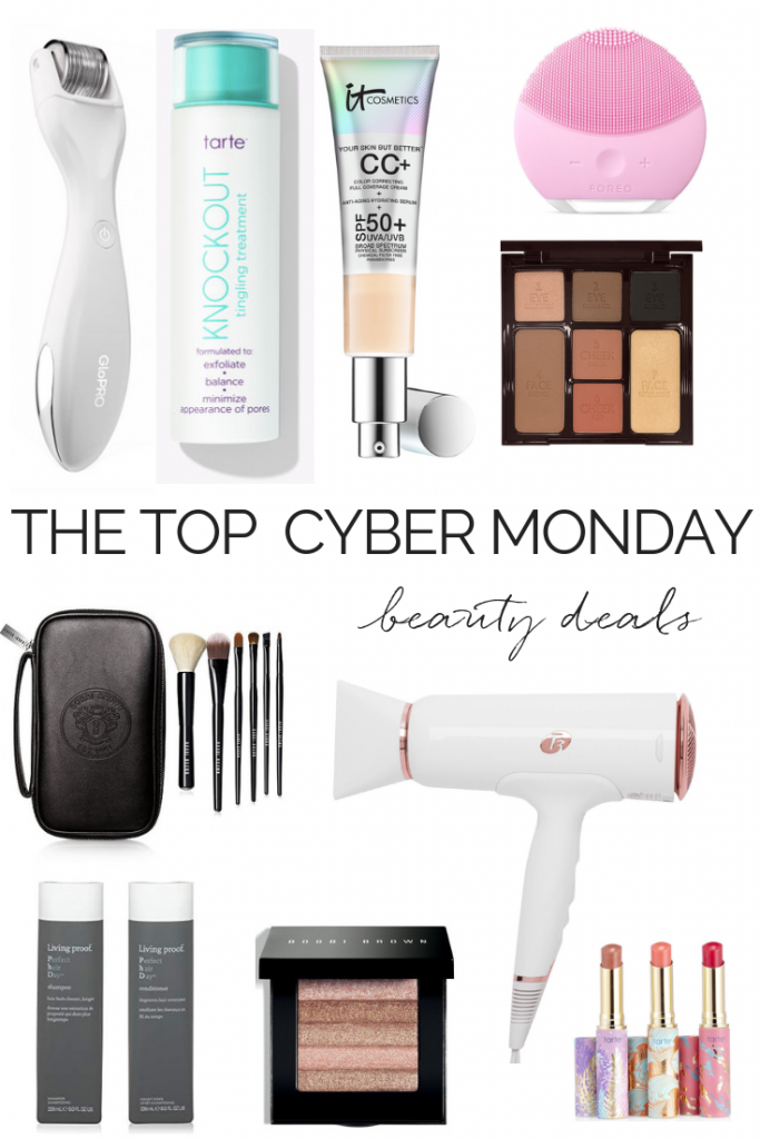 THE TOP CYBER MONDAY BEAUTY DEALS | #cybermonday #giftguide #beauty