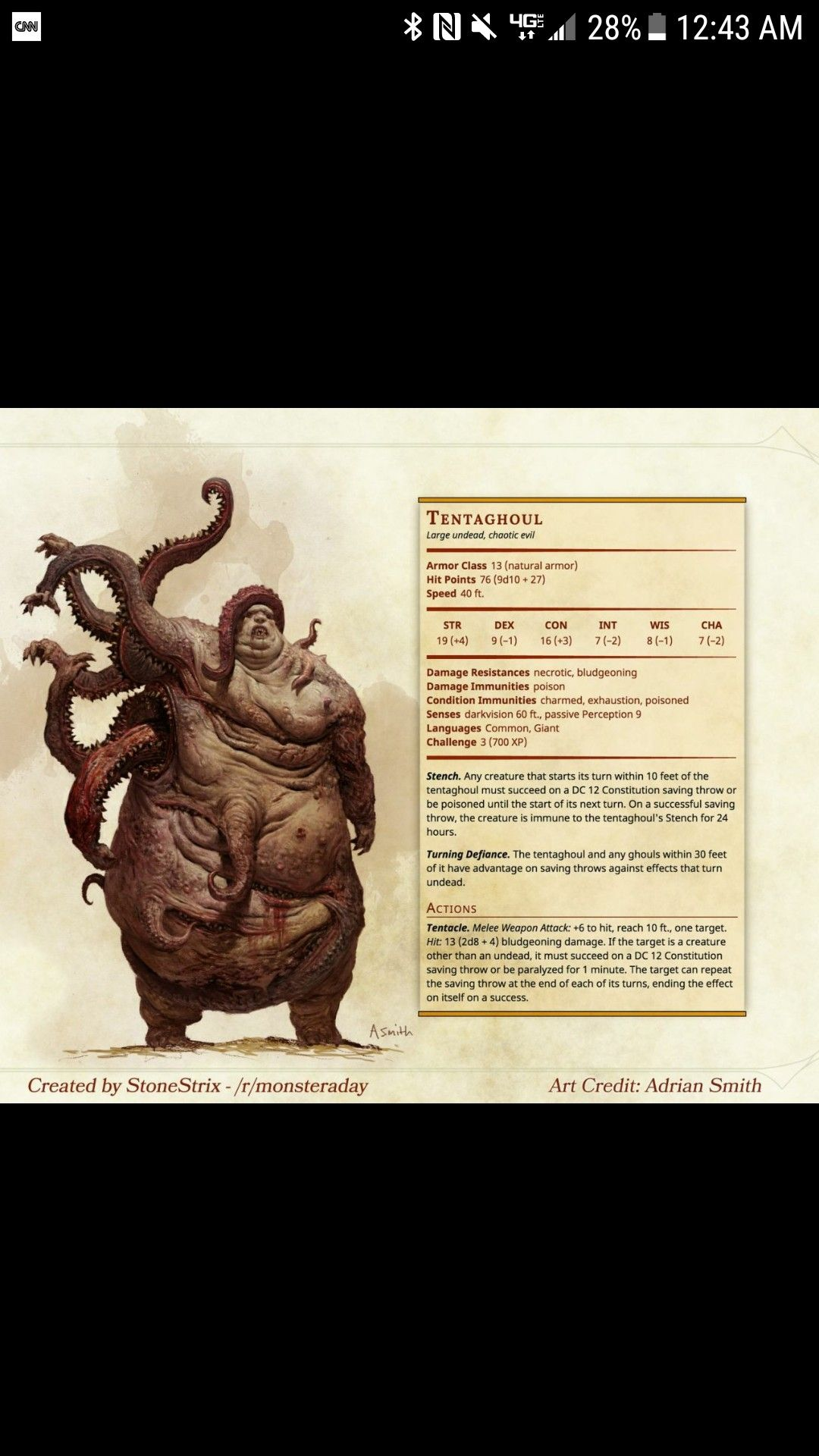 Pin by Ethan LaFleur on Dungeons and Dragons | Dnd monsters