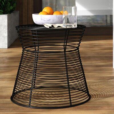 Mercury Row Derose Iron Side Table Metal Side Table Metal