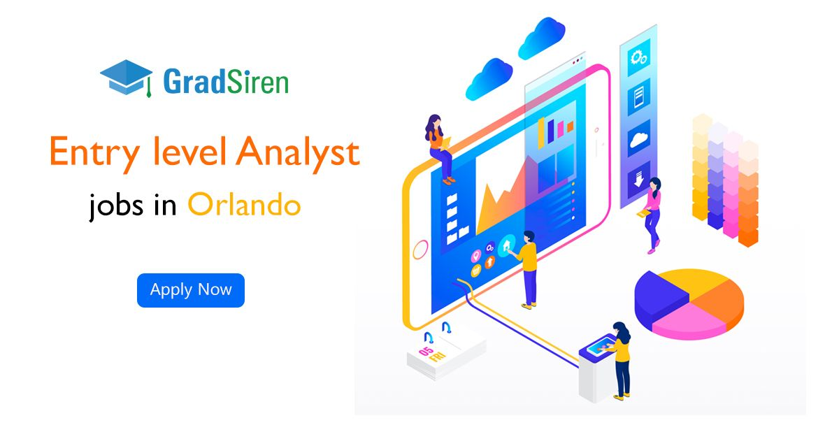 Are you looking for Analyst jobs in Orlando? Here you can