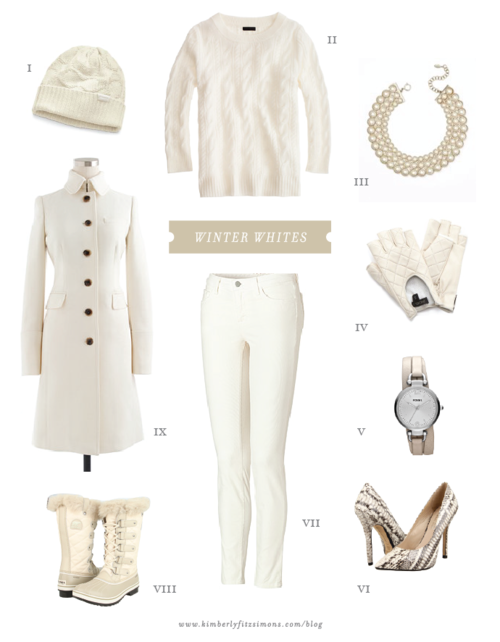 Winter White Wardrobe - Fashion Diva Design - love Winter White!