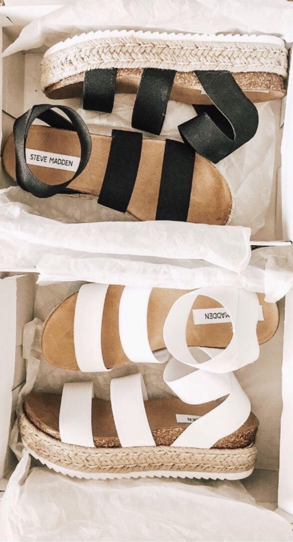 El uno al otro audición Paseo  Pin by Lynsey on c l o t h e s / s h o e s   Steve madden platform sandals,  Shoes, Dream shoes