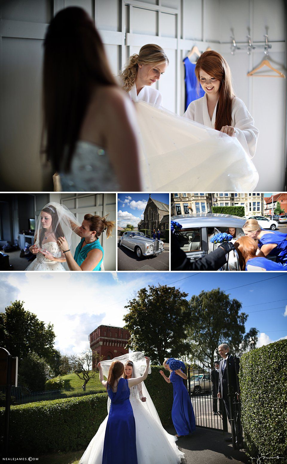 Wedding celebrations on a gorgeous summers day in Bristol