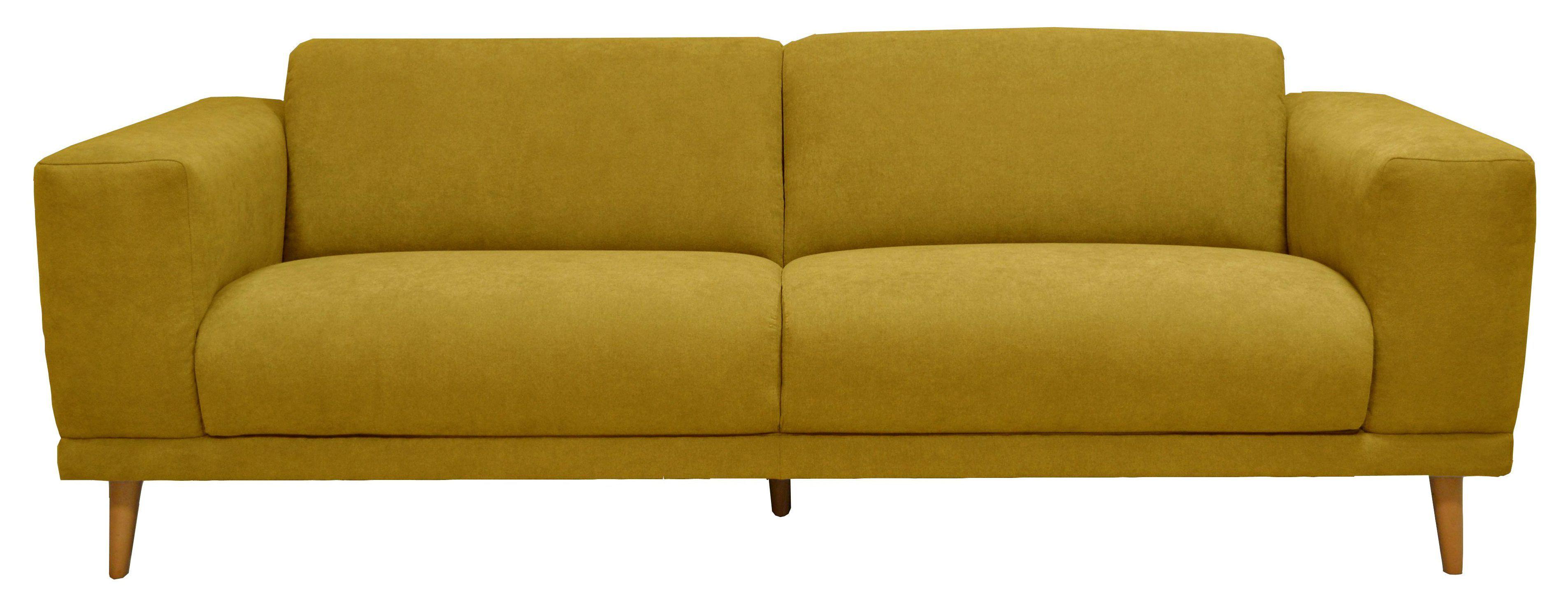 canap 3 places oslo tissu gentiane en 2019 jungle deco deco yellow et home. Black Bedroom Furniture Sets. Home Design Ideas