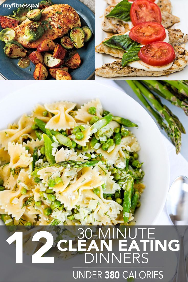11 Thirty Minute Clean Eating Dinners Under 380 Calories Rezepte