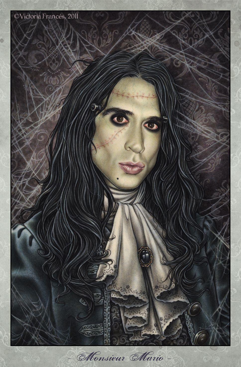 Monsieur mario victoria francis sci fi horror for Victoria frances facebook